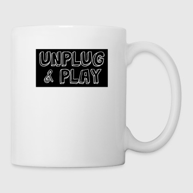 Funny Sarcastic Novelty Unplug Tshirt Design Unplug and play - Coffee/Tea Mug
