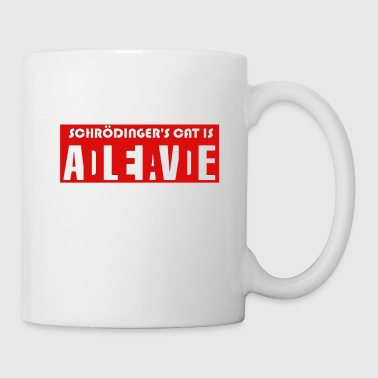Schrödingers Cat Dead Or Alive Big Bang Gift Idea - Coffee/Tea Mug