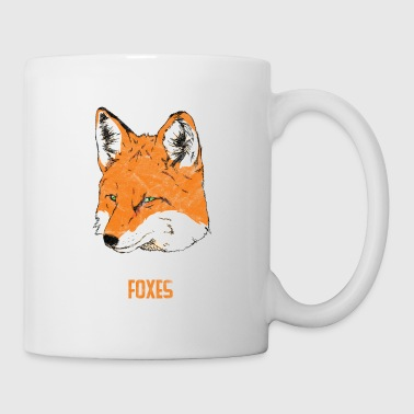 Animal Print Gift - I Just Really Like Foxes - Coffee/Tea Mug