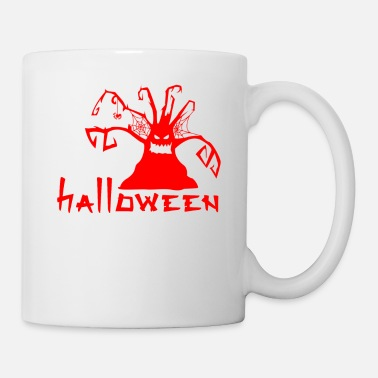 Tree Halloween 2018 Scary Haunted Spooked Tree Gift - Coffee/Tea Mug