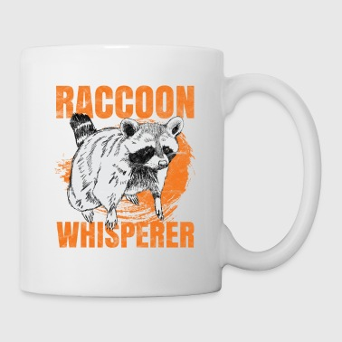 Raccoon raccoon whisperer fox animal gift - Coffee/Tea Mug