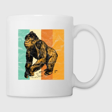 Animal Welfare Gorilla Ape Monkey Safari gift - Coffee/Tea Mug