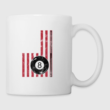 Large Billiard ball game sport gift - Coffee/Tea Mug