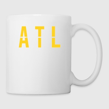 Traffic ATL - Atlanta USA Airport Code Souvenir or Gift Shirt Apparel - Coffee/Tea Mug