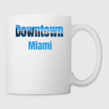 Neighborhood Downtown Miami, United States, Country Tourist Gifts - Coffee/Tea Mug