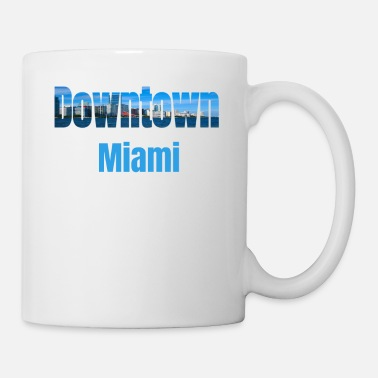 Community Downtown Miami, United States, Country Tourist Gifts - Coffee/Tea Mug