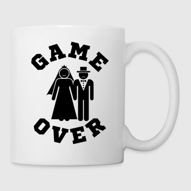 Video Game Over Tees Funny Wedding Video Gamer Groom - Coffee/Tea Mug