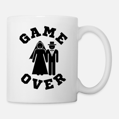 Groom Game Over Tees Funny Wedding Video Gamer Groom - Coffee/Tea Mug