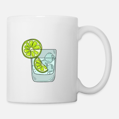 Whiskey Funny & Relaxing Vodka Tee Design LEMONS AND VODKA - Coffee/Tea Mug