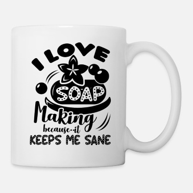 I Love Soap Making - Mug