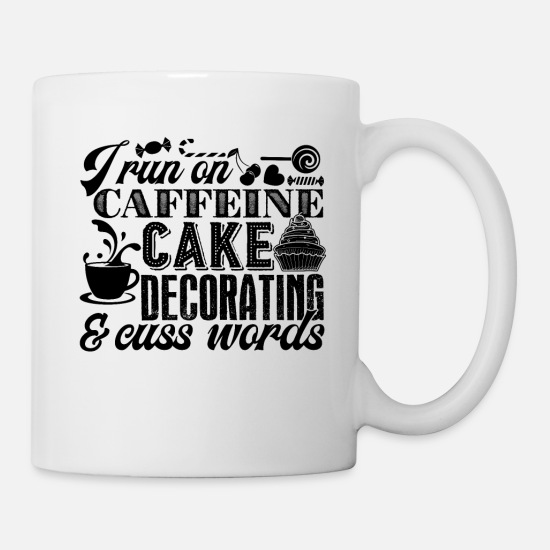 Cake Mugs & Drinkware - Cake Decorator - Mug white