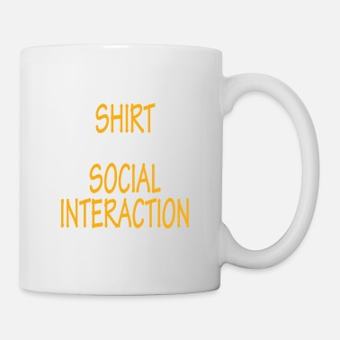 Cycling Awesome & Trendy Tshirt Designs SOCIAL INTERACTION - Coffee/Tea Mug