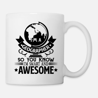 Geographic Geographer - Coffee/Tea Mug