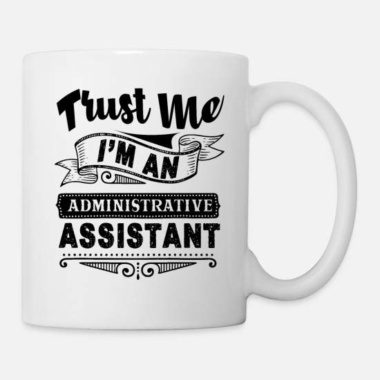 Assistant Mugs & Drinkware - Administrative Assistant - Mug white