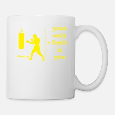 Fist Boxer Boxing Martial Arts Sports Fitness Gift - Coffee/Tea Mug