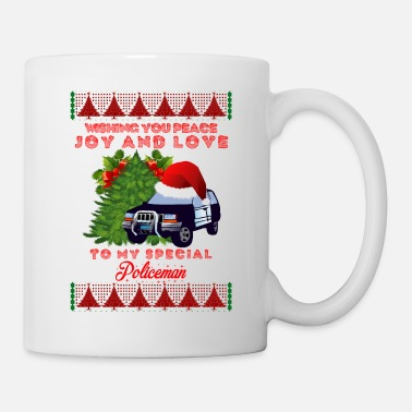 Cop Police Policeman Sheriff Officer Profession Gift - Coffee/Tea Mug