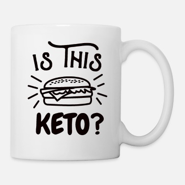 Bomb burger keto meat eater love fat diet slimming gift - Coffee/Tea Mug
