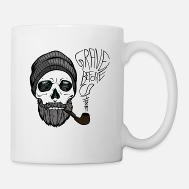 Daddy GRAVE BEFORE SHAVE - Fun Bearded Men Gifts - Coffee/Tea Mug