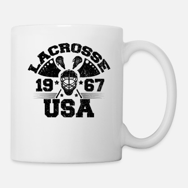 1967 USA Lacrosse 1967 Lacrosse Player - Coffee/Tea Mug