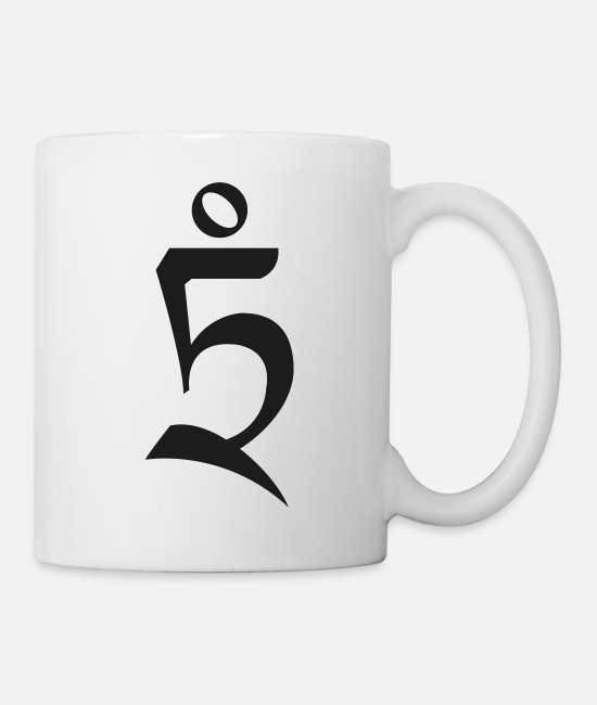 Love Mugs & Drinkware - Buddhism - Mug white