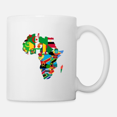 African American United Africa - Proud Africans - Africa Alliance - Coffee/Tea Mug