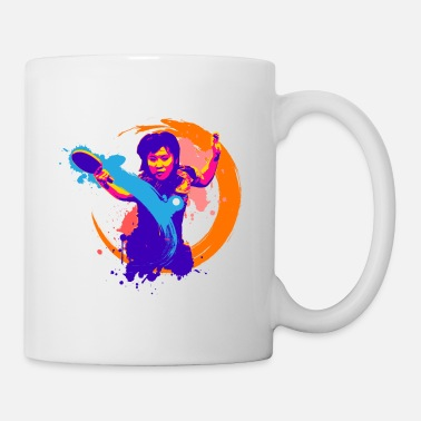 Tennis Winning is a way of expressing yourself. - Coffee/Tea Mug