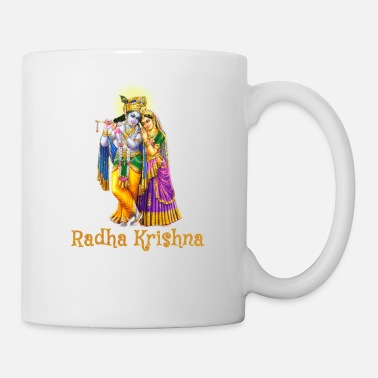 Divinely Beautiful Radha Krishna - Mug