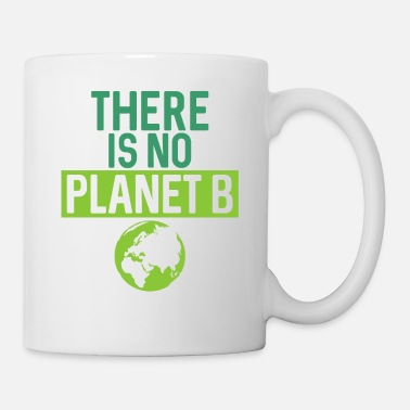 Gas There Is No Planet B Support Green - Coffee/Tea Mug