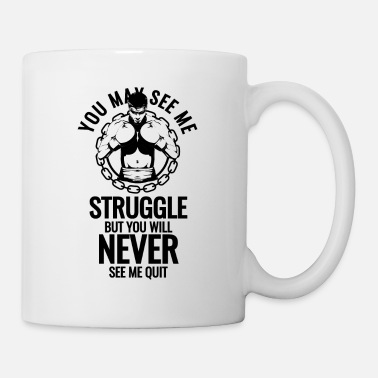 Builder Fitness Gym Bodybuilding Body Builder - Mug