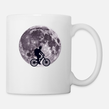 Transport Moon Biking - Bike, Bicycle, Cycling - D3 Designs - Coffee/Tea Mug
