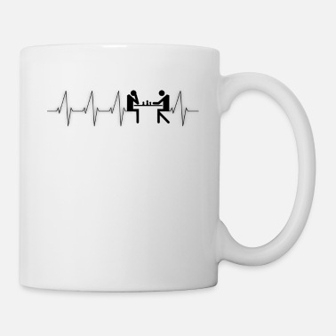 Game Heartbeat Chess - Mug