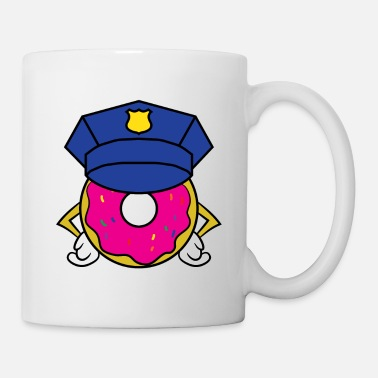 Crumb Donut Cops tee design. Perfect for sweets and - Coffee/Tea Mug