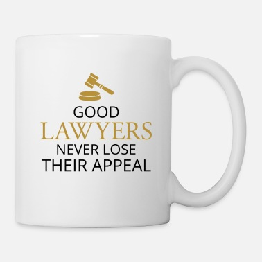 Running Good Lawyers Never Lose Their Appeal - Candid Awe - Coffee/Tea Mug