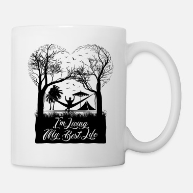 Best Living my best life (for Men) - Mug
