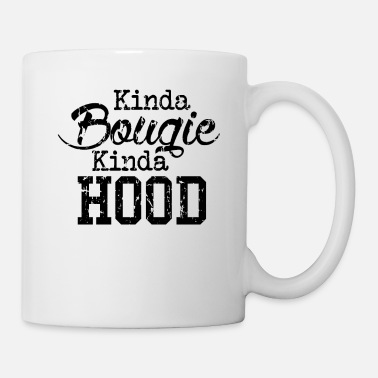 Equalizer Kinda Bougie Kinda Hood Black History Month Pride - Coffee/Tea Mug