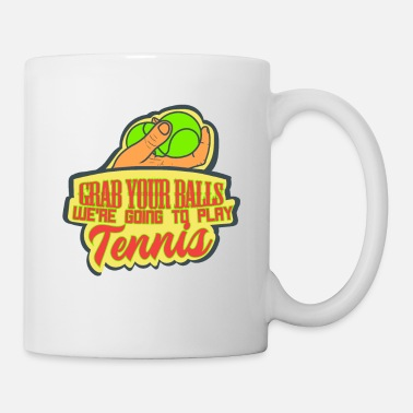 Funny Tennis Funny Tennis Tennis Ball Tennis Player Gift - Mug