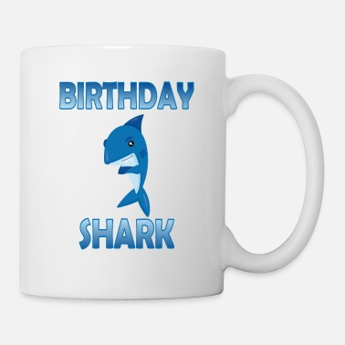 Cool Birthday Shark Party Gift for Kids and Adults - Mug