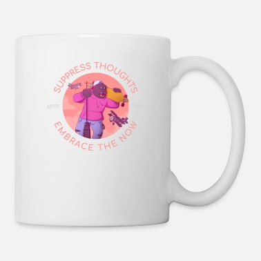 Gorilla Suppress Thoughts Embrace the Now - Mug