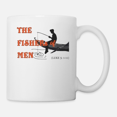 God FISHER OF MEN, Christian - Mug