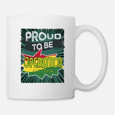 Staff Proud to be operator citizen - Mug