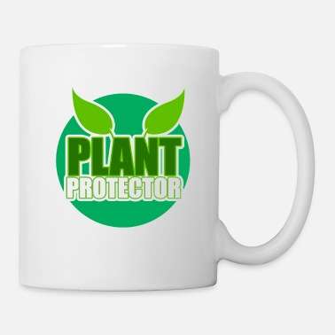 Enviromental Plant protector. Earth Day, natural reserve - Mug