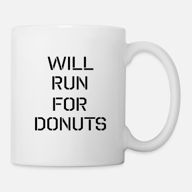 Marathon will run for donuts - Mug
