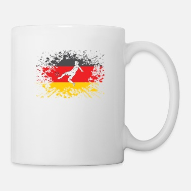 European Champion german flag soccer player european champion - Mug
