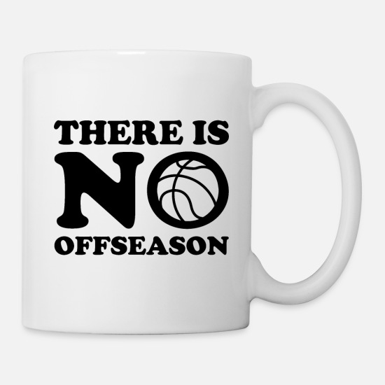 Basketball Mugs & Drinkware - Basketball - Mug white