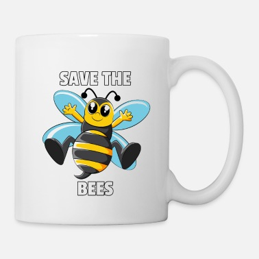 Nature Collection Bees Beekeeper Bee Natur Funny Cute Save The Gift - Mug