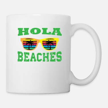 Juice Cute Summer Tee Hola Beaches Tshirt Design Sun - Mug