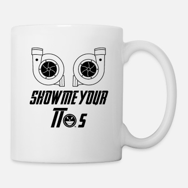 Race Car Show me your turbocharger tuner shirt - Mug