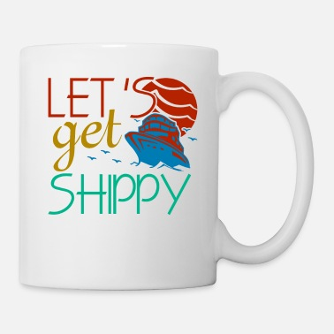 Cruise Boat Sailor Sailing idea Skipper Captain Ship Gift - Mug