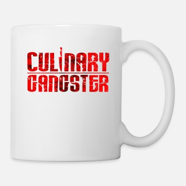 Cuisine Culinary Gangster | Cool Chef Typography Cooking - Mug