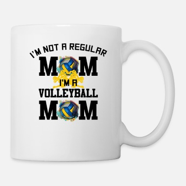 Scene Im Not A Regular Mom Im A Volleyball Mom for - Mug